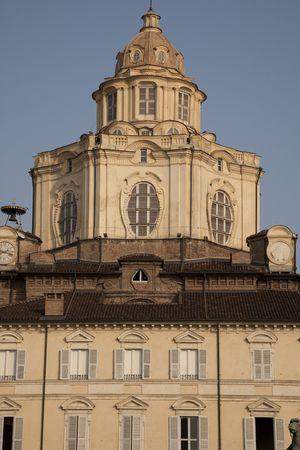 lorenzo: St Lorenzo Church on the Castello Square, Turin, Italy