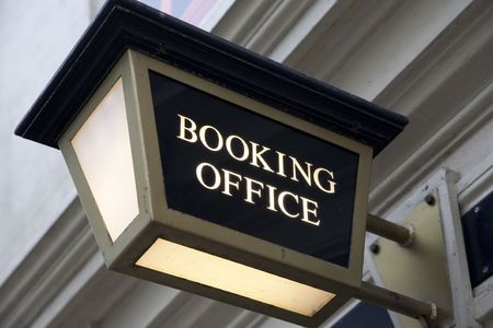 Booking Office Sign for the Theatre