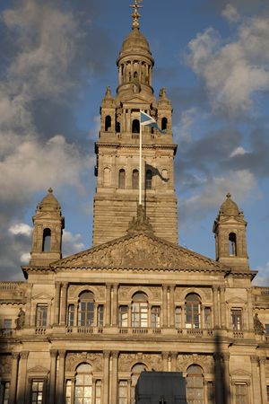 kamers: City Chambers in Glasgow, Scotland