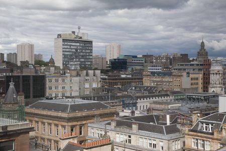 Glasgow Cityscape Фото со стока - 7707921