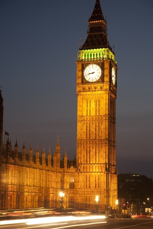 Big Ben and the Houses of Parliament at Westminster, London, UK photo