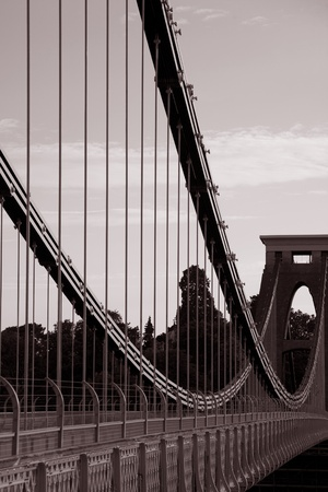 Clifton Suspension Bridge by Brunel in Bristol, England photo
