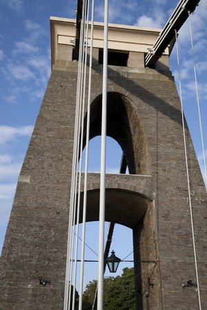 Clifton Suspension Bridge by Brunel in Bristol, England, UK photo