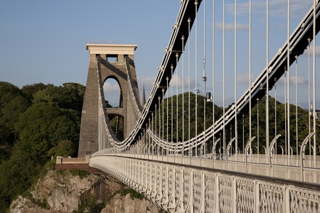 Clifton Suspension Bridge by Brunel in Bristol, England, UK