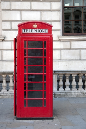 Red Telephone Box, London, Britain, UK Stock Photo - 14480505