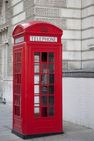 Red Telephone Box; London, UK photo