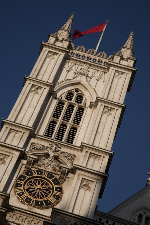 Westminster Abbey Tower in London, England, UK photo