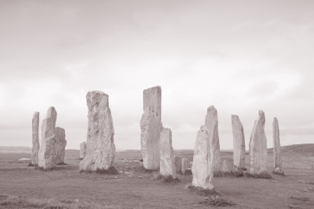 Callanish Standing Stones Isle of Lewis Western Isles Outer Hebrides, Scotland Stock Photo - 15868585