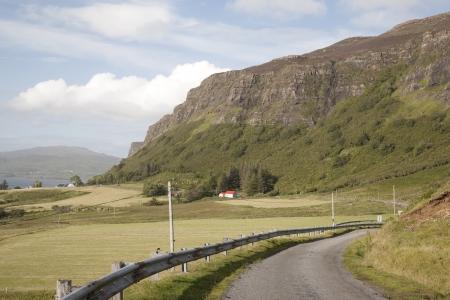 Mull: Open Road, Isle of Mull, Scotland, UK