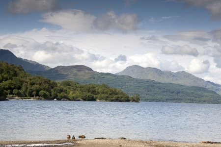 Loch Lomond; Scotland; UK Stock Photo - 16128038