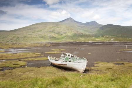Mull: Wreak; Isle of Mull; Scotland; UK