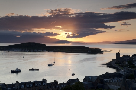 mull: Kerrera Island and the Isle of Mull from Oban Folly, Scotland