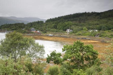 Village of Salen in Scotland, UK Stock Photo - 17085660