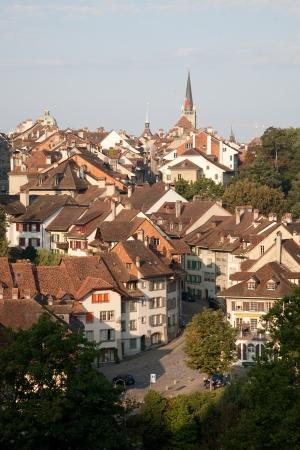 tradional: Tradional Housing in Bern, Switzerland, Europe