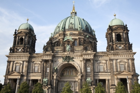 dom: Berliner Dom Cathedral Church Dome, Berlin, Allemagne;