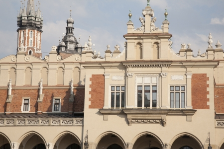 cloth halls: Cloth Hall in Krakow, Poland, Europe