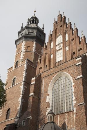 corpus: Corpus Christi Church, Krakow; Poland Stock Photo