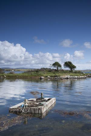 connemara: Roundstone Bog Estuary, Connemara, County Galway, Ireland Stock Photo