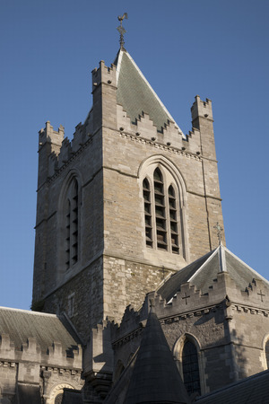 christ church: Christ Church Cathedral, Dublin; Ireland Stock Photo