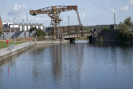 docklands: Royal Canal, Docklands, Dublin, Ireland