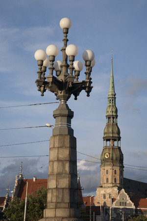 peters: St Peters Lutheran Church, Riga, Latvia