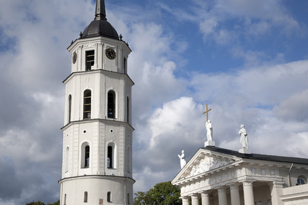 vilnius: Cathedral and Belfry - Bell Tower, Vilnius, Lithuania