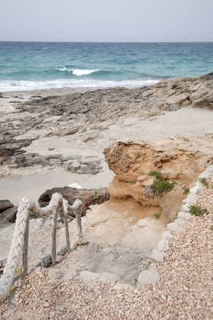formentera: Es Calo Beach; Formentera; Balearic Islands; Spain