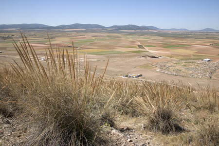 castilla la mancha: View from Consuegra; Toledo, Castilla La Mancha; Spain