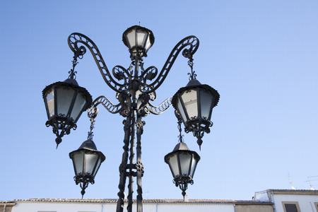 andalusia: Lamppost in Ubeda, Andalusia, Spain
