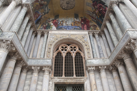 marcos: San Marcos Cathedral Church; Venice; Italy Editorial