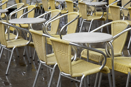 marcos: Cafe Tables and Chairs in San Marcos - St Marks Square, Venice, Italy