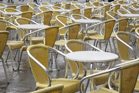 st marks square: Cafe Tables and Chairs in San Marcos - St Marks Square, Venice, Italy