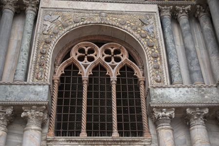 marcos: San Marcos Cathedral Church; Venice; Italy Stock Photo