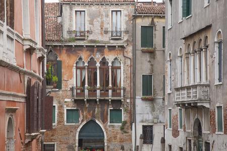 chiesa: View from Calle Drio la Chiesa Street Bridge, Venice, Italy