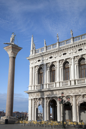 st  mark's square: St Marks Square; Venice, Italy Stock Photo
