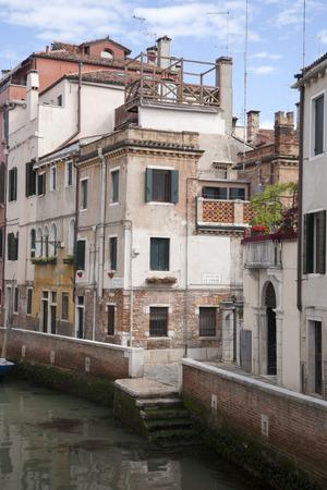 street corner: Street Corner in Venice, Italy