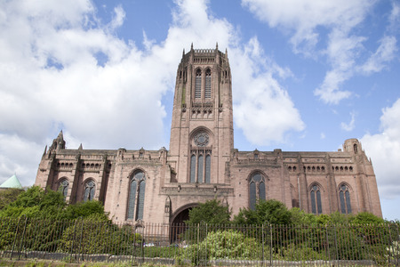 anglican: Anglican Cathedral Church, Liverpool, England, UK