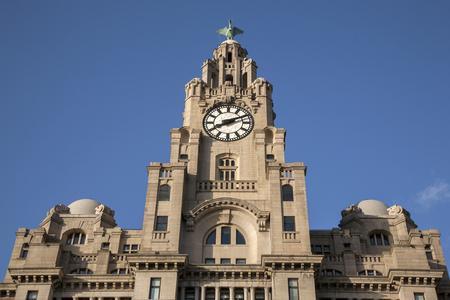 liverpool: Royal Liver Building, Liverpool, England, UK Editorial