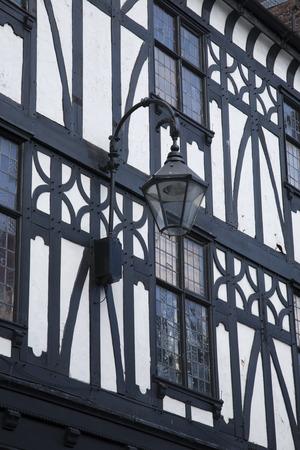 chester: Traditional Facade in Chester, England