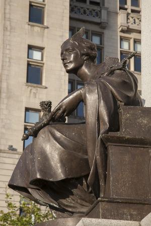liverpool: Victoria Memorial and Liver Building, Pier Head; Liverpool; England; UK