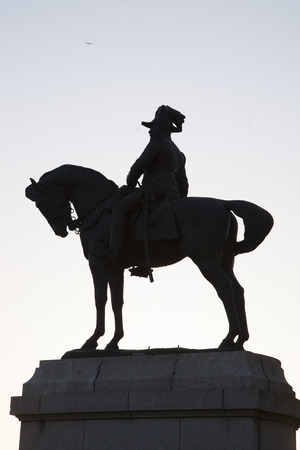 royals: Edward VII Statue, Liverpool; England; UK