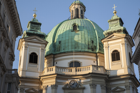 peter's: St Peters, Church, Vienna, Austria