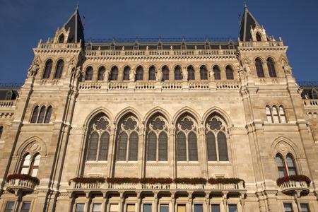 rathaus: Rathaus - City Hall, Vienna, Austria Stock Photo