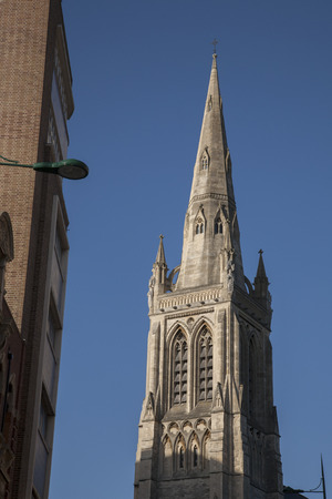 bournemouth: St Peters Church Tower, Bournemouth, Dorset, England