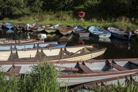 county kerry: Boats in Killarney National Park, County Kerry; Ireland