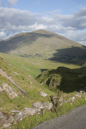 county kerry: Countryside near Molls Gap; Killarney National Park; County Kerry; Ireland Stock Photo