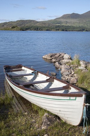 lough: Boat and Lough Currane Lake, Waterville