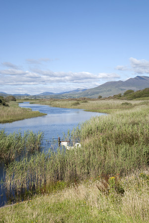 kerry: River Currane; Waterville; County Kerry; Ireland Stock Photo