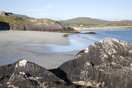 county: Derrymore Bay Beaches, Waterville, County Kerry, Ireland