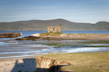 county: Ballingskelligs Castle Beach; Waterville; County Kerry; Ireland